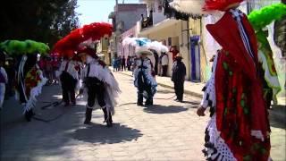 Carnaval Papalotla Tlaxcala 2015 comunidad de panzacola
