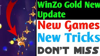 WinZo Gold New Update New Games & New Tricks |