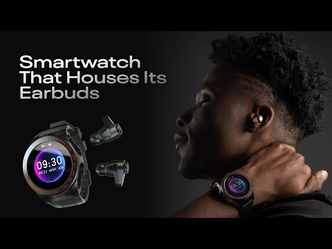 hqdefault - Wearbuds Watch: 3rd Gen of smartwatch that stores your earbuds