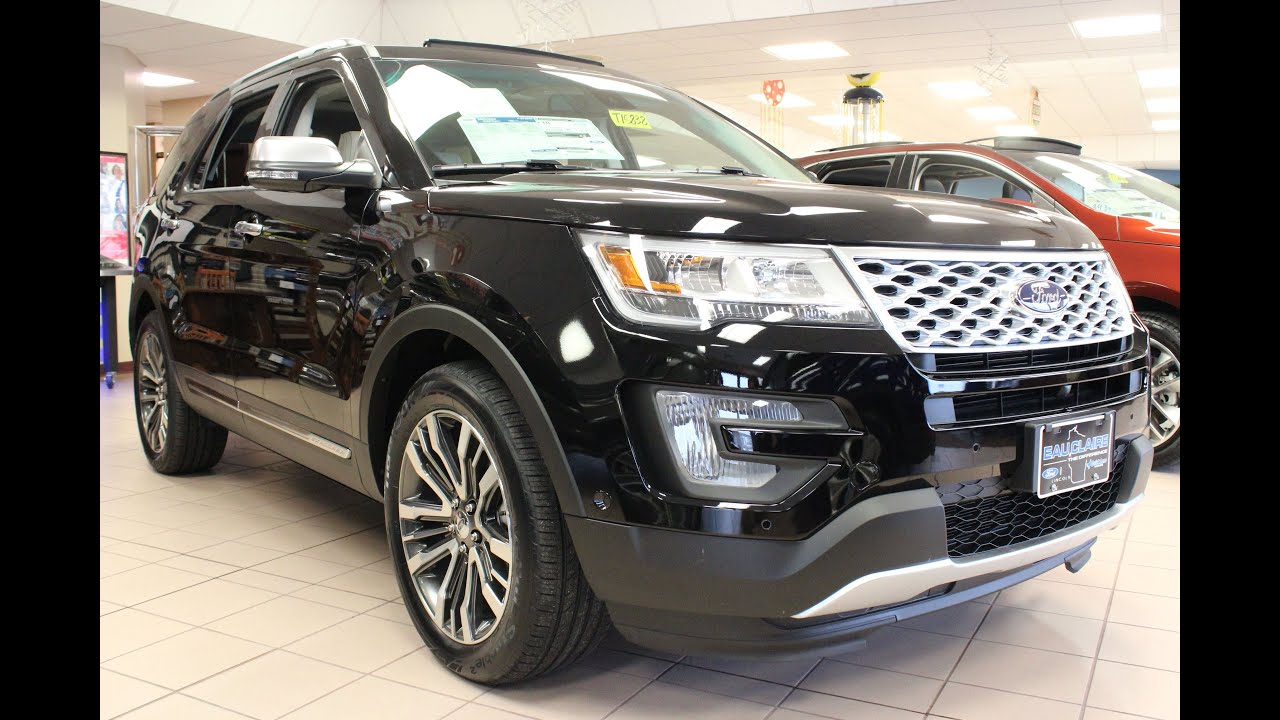 2016 ford explorer platinum youtube. Black Bedroom Furniture Sets. Home Design Ideas