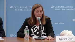 Dr. Josefina Vidal Ferreiro, Director, North America Division, Cuban Ministry of Foreign Relations