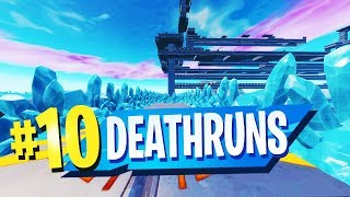 TOP 10 INSANE DEATHRUN Creative Maps In Fortnite (Fortnite Deathrun Map CODES)