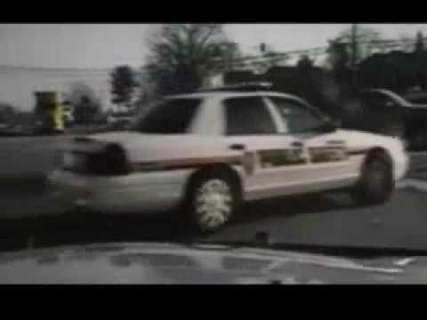Police Dash Cam footage (RAW) Burke County NC WSOC