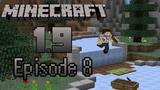Minecraft 1.9 -- Ep8: Ice Road Boat Jumps