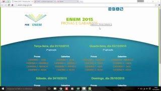 Como saber a nota do ENEM 2015 ou outros anos