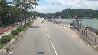 Repeat youtube video The Kowloon Motor Bus Co. Route 75K (Tai Po Market → Tai Mei Tuk)