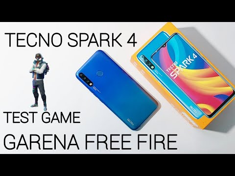 Tecno Spark 4 Test Game Garena Free Fire | 3GB Ram