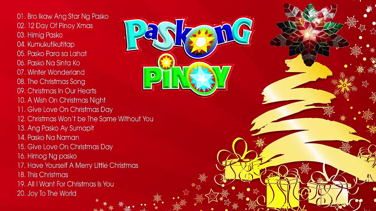 paskong pinoy best tagalog christmas songs medley 2017 2018 chritmas songs playlist 2018 youtube. Black Bedroom Furniture Sets. Home Design Ideas