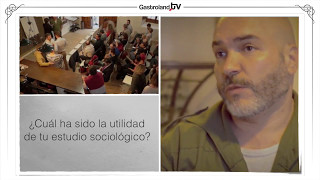 Antropólogo de Bar. Sergio Gil ( Gastropólogo ).