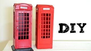 DIY Cabine Telefônica de Londres