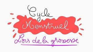 🔴 L'EXPLICATION LA PLUS CLAIRE DU CYCLE MENSTRUEL LORS DE GROSSESSE ! - DR ASTUCE