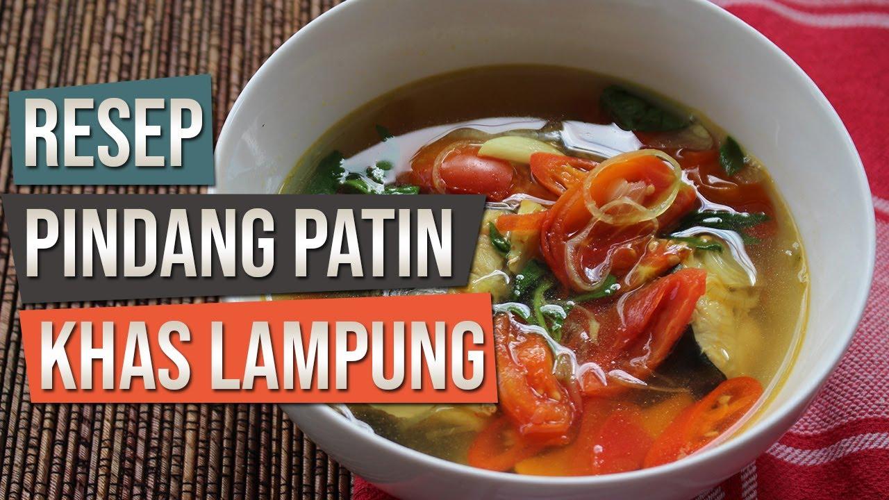 Resep Pindang Patin Khas Lampung - Resep Masakan Ikan ...