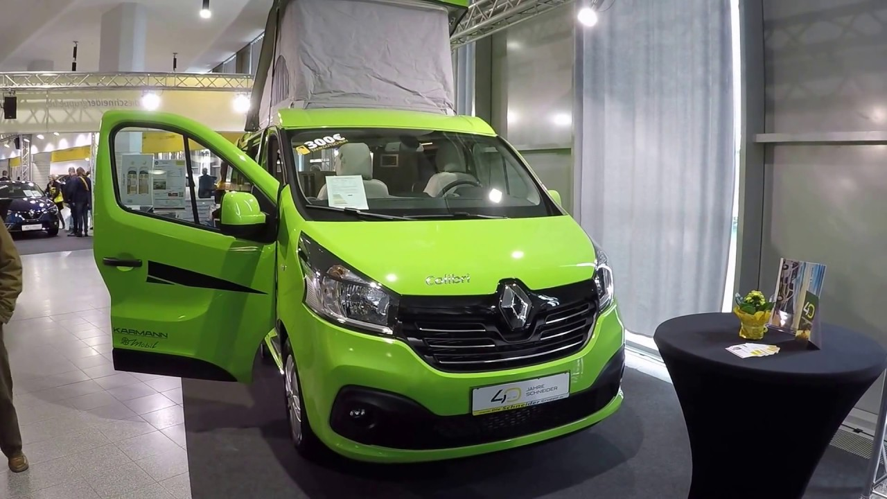 Renault Colibri 499 Karmann Camper Green Colour