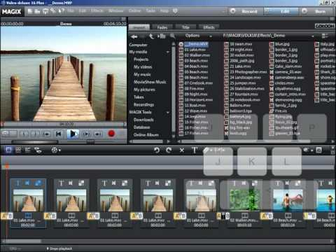 professional movie editing software