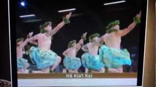 Merrie Monarch 2012 - Academy of Hawaiian Arts - Kane Kahiko