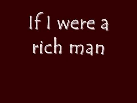 Fiddler on the Roof Jr. - If I Were A Rich Man: Lyrics