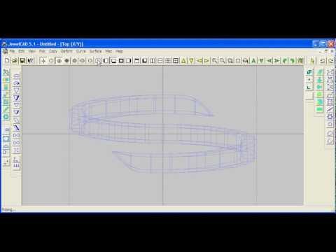JewelCAD 5.1 Curvy Ring