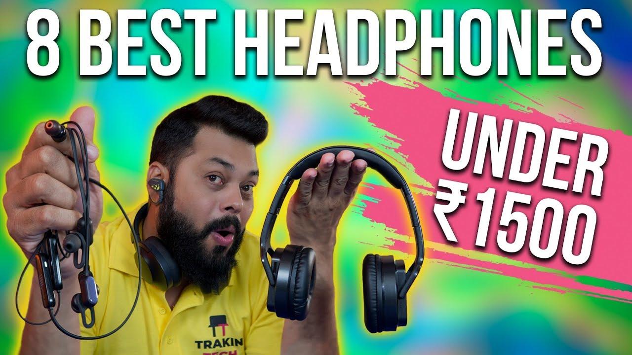 Top 8 Best Bluetooth Earphones Headphones Under 1500 2019 Youtube