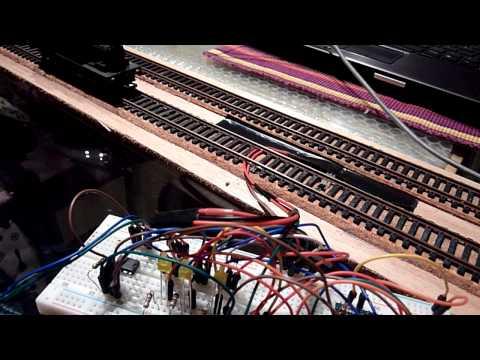 Train detector using Arduino Nano, magnet and hall effect sensor