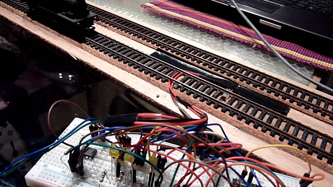 Train Detector Using Arduino Nano, Magnet And Hall Effect Sensor  Ledeev001  00:27 HD