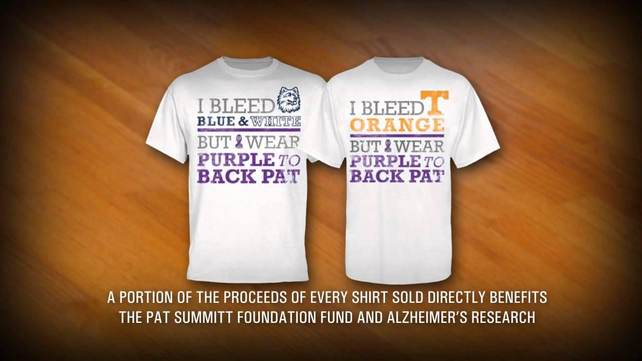 We Back Pat T Shirts Support The Pat Summitt