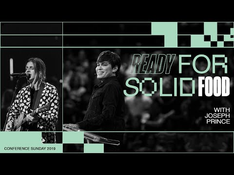 Ready For Solid Food | Joseph Prince | Hillsong Church - Conference Sunday PM Service