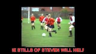 Young Steven Gerrard age 12 playing for Whiston Juniors...1992......PART 1