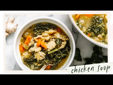 Healing Chicken Vegetable Soup Recipe for your Fall Season | HONEYSUCKLE
