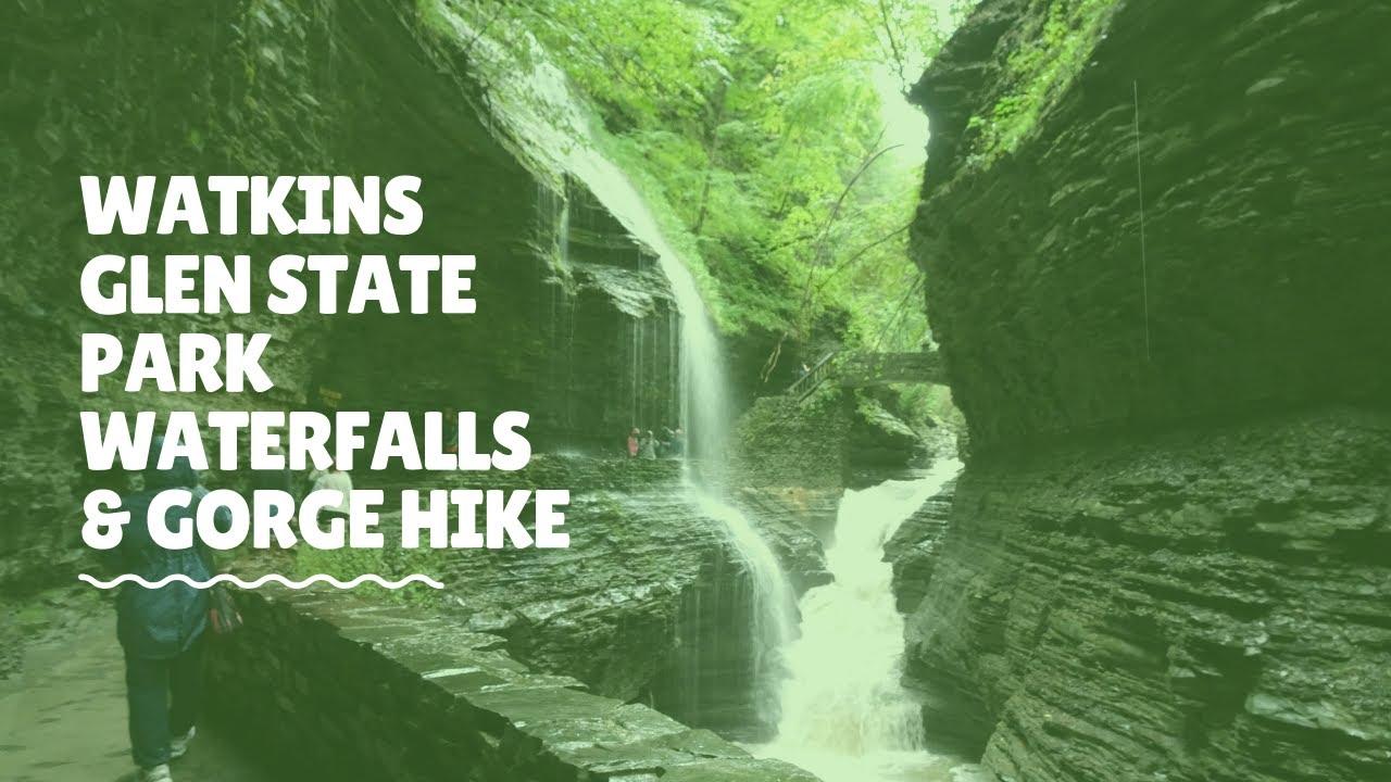 A Walk Through Watkins Glen State Park New York   Our ... Watkins Glen State Park Easy Walking Trail Waterfall Map on