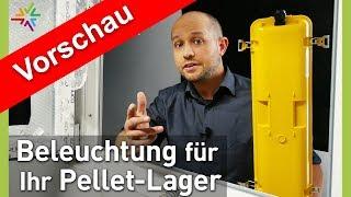 Beleuchtung im Pellet-Lager oder Hackschnitzel-Bunker - TEASER VORSCHAU
