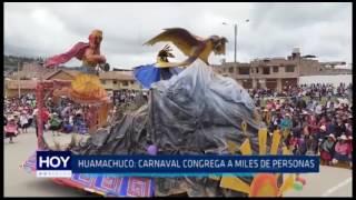 Huamachuco: Carnaval congrega a miles de personas