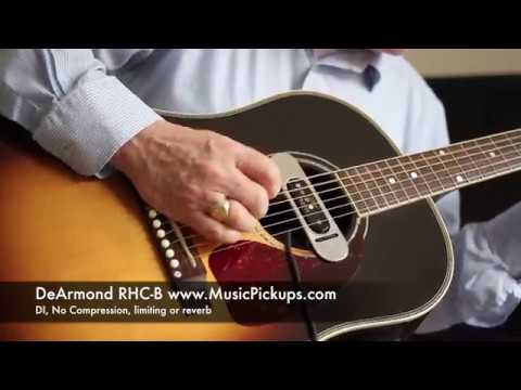dearmond magnetic acoustic guitar pickup comparison youtube. Black Bedroom Furniture Sets. Home Design Ideas