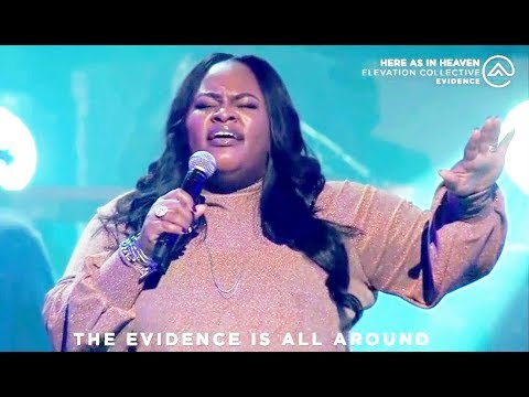 Tasha Cobbs Leonard, Travis Greene & Israel Houghton - Here As In Heaven (LIVE)
