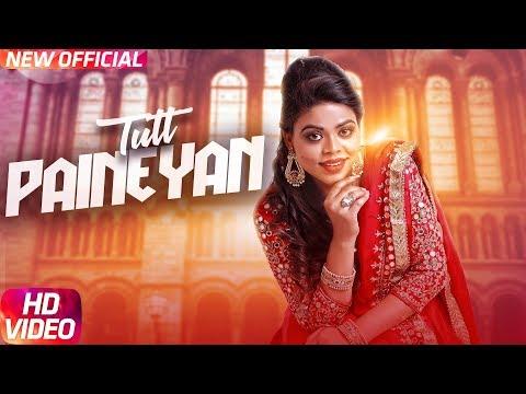 Tutt Paineyan (Full Video) | Jasmeen Akhtar | G Guri | Latest Punjabi Song 2018 | Speed Records