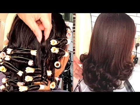 Hướng dẫn uốn lạnh tóc bạc nhuộm nhiều lần khô sơ   Khái quát các tài liệu liên quan tóc nữ uốn đuôi đầy đủ