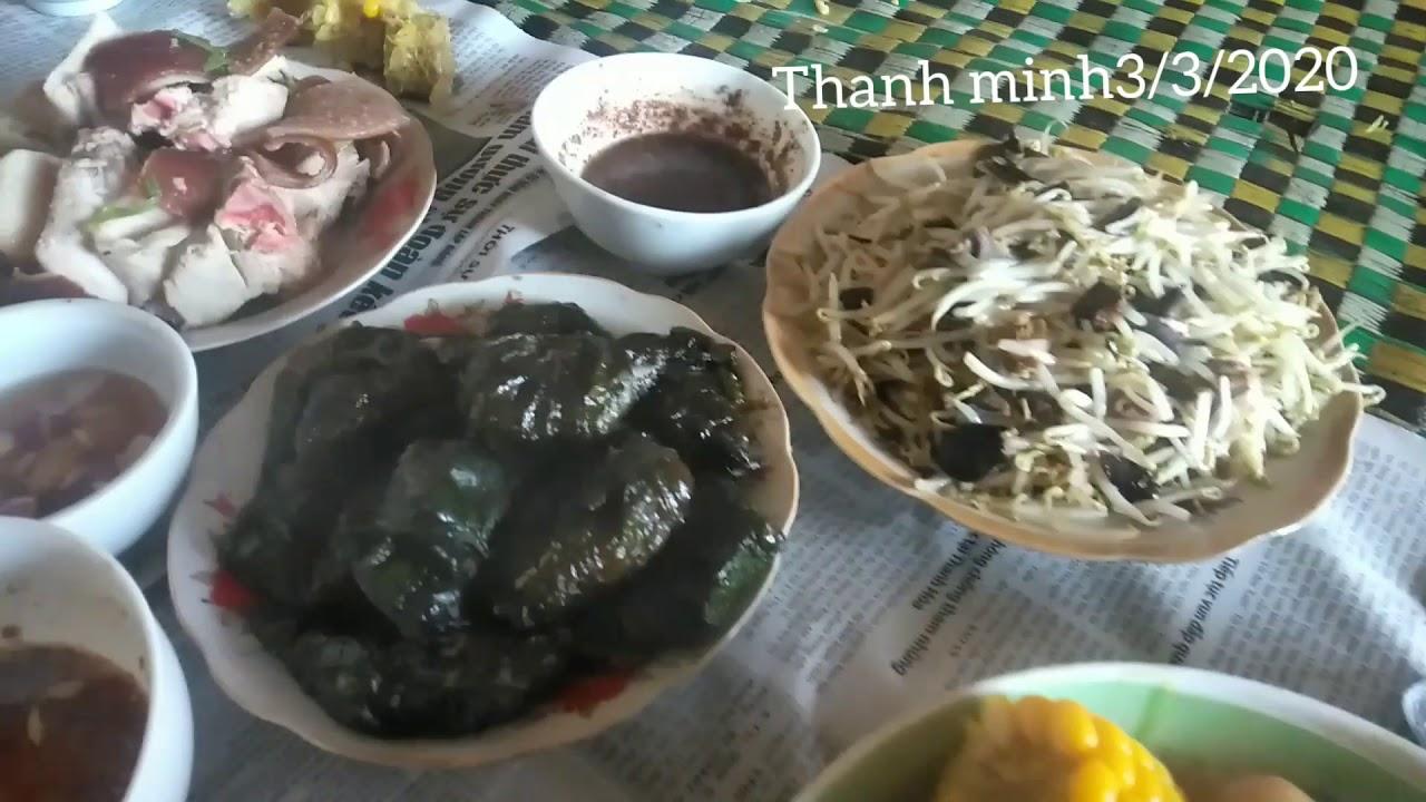 Tết thanh minh | tết tảo mộ || phong tục dân tộc nùng