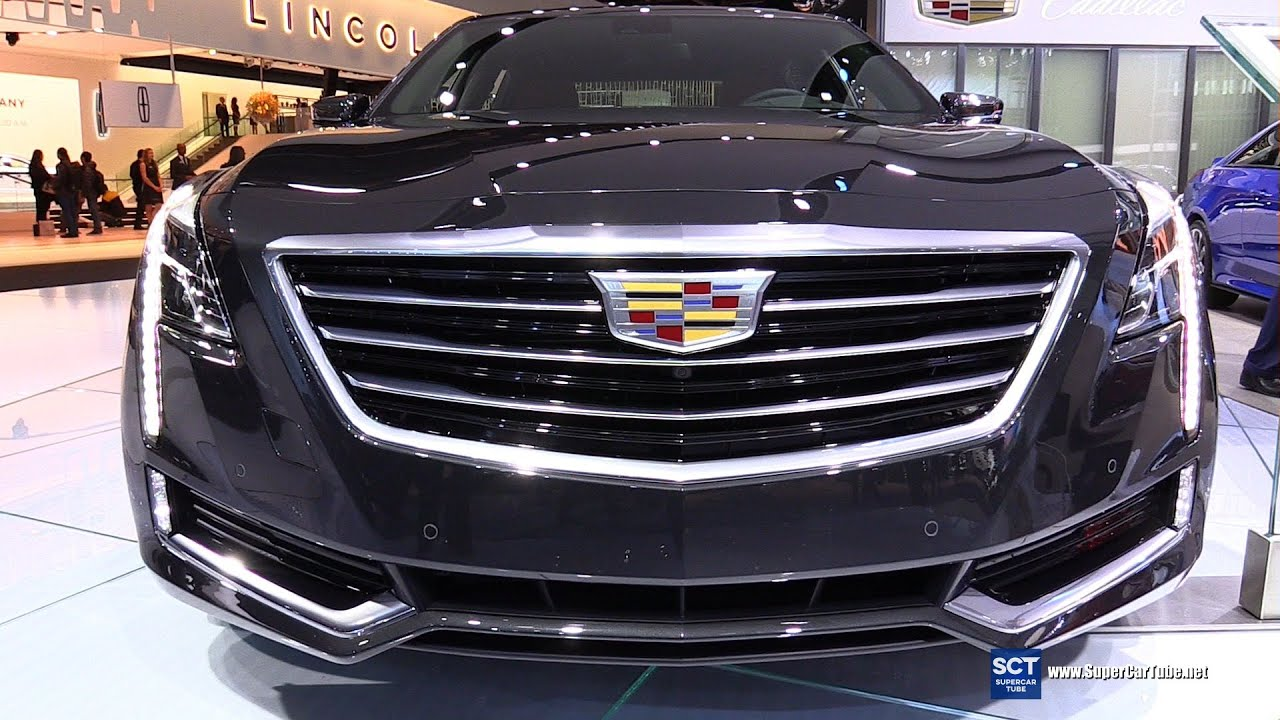 2016 cadillac ct6 3 6 awd exterior and interior. Black Bedroom Furniture Sets. Home Design Ideas