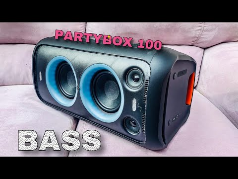 JBL PARTYBOX 100 | EXTREME BASS