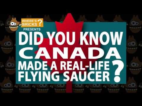 Did You Know Canada Made A Real Flying Saucer?