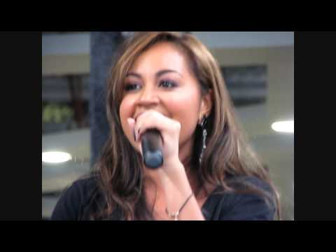Jessica Mauboy Been Waiting live @ Liverpool Markets 29 03 09