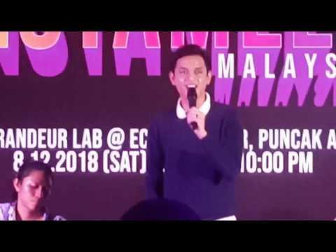 KUCAIMARS & DALIA FARHANA | INSTAMEET 2018
