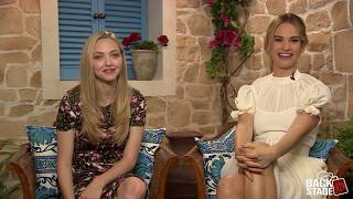 Amanda Seyfried & Lily James Sing