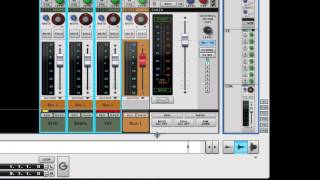 Reason 7 - Grouping Channels - Channel Bus - SSL Mixer Video Series - Reason - LearnReason.com