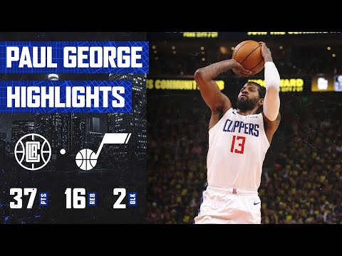 Paul George (37 PTS, 16 REB) TAKES OVER Game 5 vs. Utah Jazz | LA Clippers