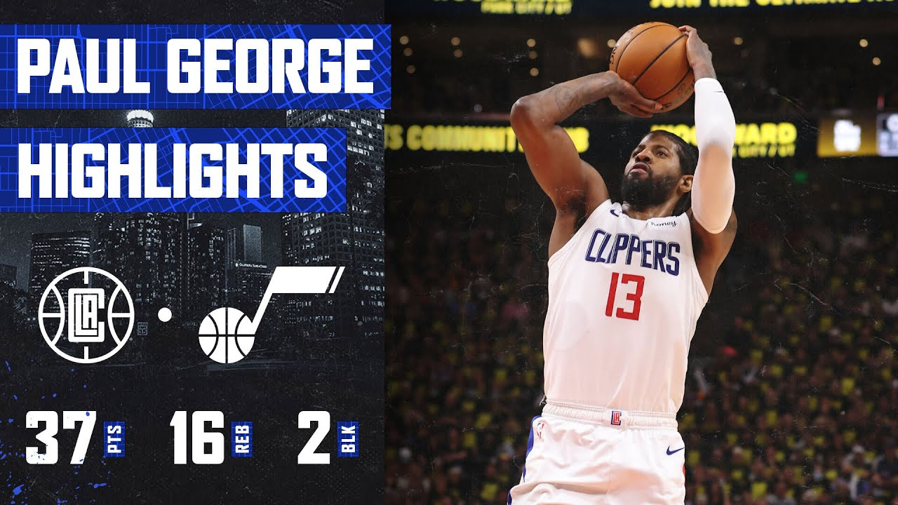 Download Paul George (37 PTS, 16 REB) TAKES OVER Game 5 vs. Utah Jazz | LA Clippers