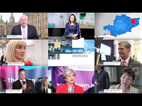 General Election 2017 Result Friday 9th June ITV News Meridian (East edition)