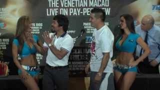 Manny Pacquiao Mistakenly Faces Off Against TRKnockout Jen Mateo