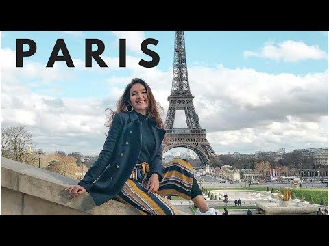 FIRST TIME IN PARIS (Paris vlog)