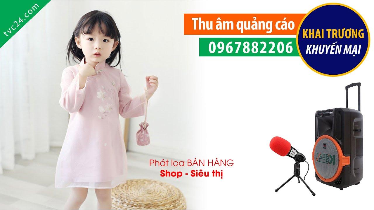 Thu âm quảng cáo Shop Thế giới mẹ và bé Lanly MC Phòng thu âm 0967882206