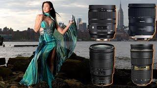 24-70mm Showdown - Nikon F vs Z vs Tamron vs Sigma Art